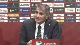 Türkiye - Andorra maçının ardından - A Milli Takım Teknik Direktörü Şenol Güneş (3)