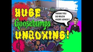 Massive Goosebumps Unboxing From Avery Jones!