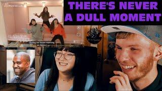 BLACKPINK HOUSE EPISODE 2 PART 2 & 3 (COUPLE REACTION!) | NEVER A DULL MOMENT!