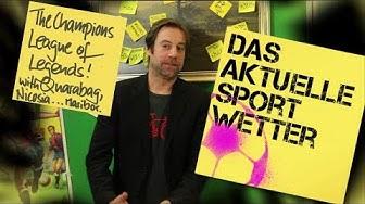 Sportwetten für die Englische Woche | The Champions League of Legends & 4 Fußballwetten | 21.11.2017