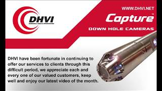 (Ref: 121) Open formation downhole camera video