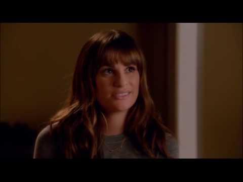 Glee - Rachel shows Sam her room 6x07