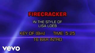 Lisa Loeb - Firecracker (Karaoke)