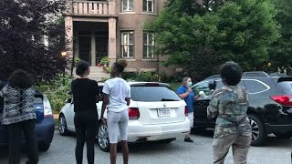Watch: Protesters target Krewson's home again with noise party