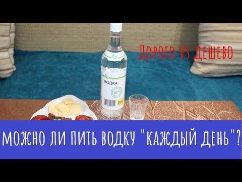 Можно ли пить водку каждый день?  ДОРОГО vs ДЕШЕВО!!!!!
