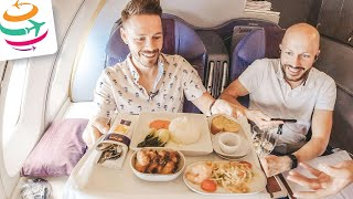 Entzückend! Thai Airways 747-400 Upperdeck Business Class | YourTravel.TV