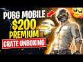 PUBG Mobile $200 Premium Crate Unboxing - Galactic Helmet - Space Guardian Suit - Diver Set - Hearts