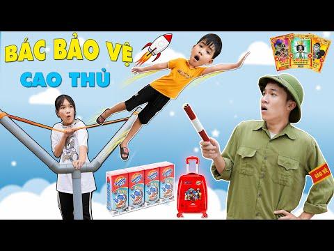 Bác Bảo Vệ Cao Thủ - Săn Thẻ One Piece ♥ Min Min TV Minh Khoa ft Ovaltine