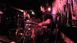 Fetus Eaters - FRED JOHNSON Drum cam - live Los Globos 01/05/2015