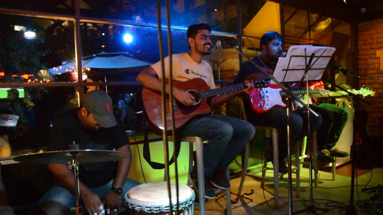 sniff shot was live at the beer cafe, koramangala - youtube