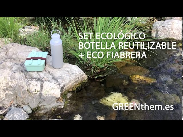 GREENthem   Set botella reuilizable + eco fiambrera