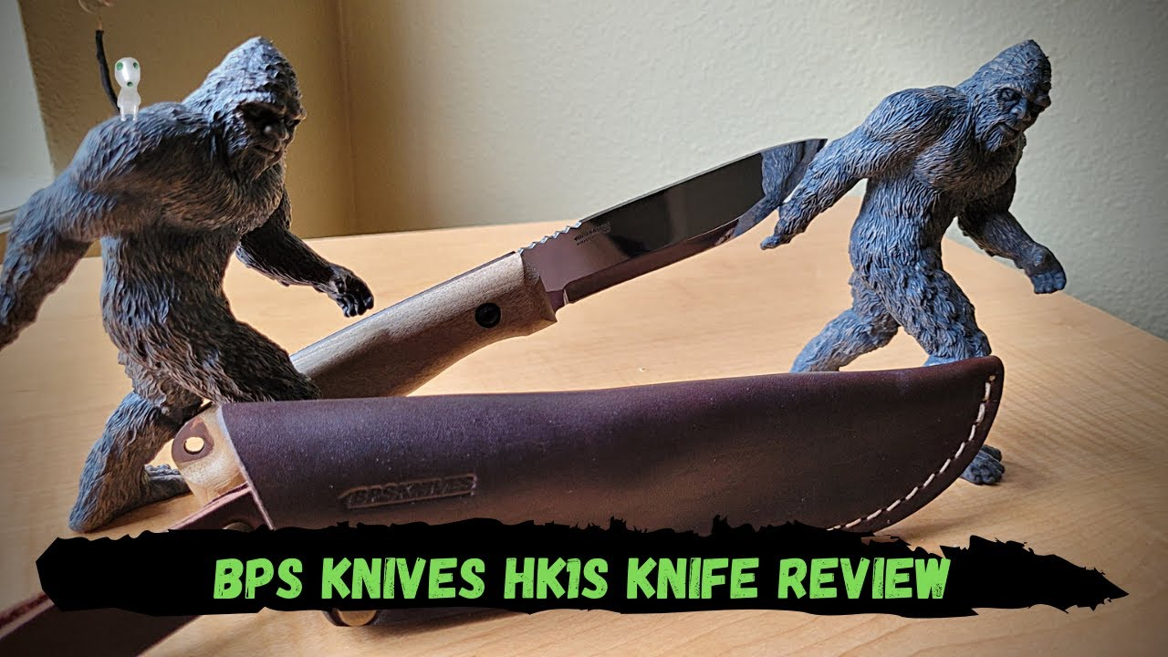 BPS Knives HK1S Bushcraft Fixed Blade Knife Review