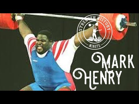 Mark Henry | Strength History Minute