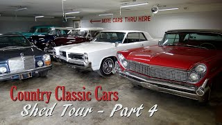 Shed Tour Part 4 - Country Classic Cars - July 2020