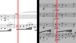 BWV 1058 - Harpsichord Concerto in G Minor (Scrolling)