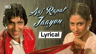 Aaj Rapat Jaye Toh Lyrical Amitabh Bachchan Smita Patil Namak Halal Bollywood& 39 s Popular Song