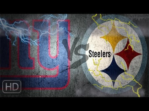 Its Game Day!!! || Pittsburgh Steelers Vs New York Giants || Preseason Opener Pump Up ||*HD Quality*