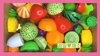 티유티비 ㅣ 박스안에 다양한 장난감 과일 채소 이름 배…