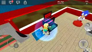 Sonic tycoo en roblox 😀😀!! Mi primer gameplay con mi tio