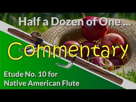 Native American Flute Etude No. 10 - Half a Dozen of One ... - Commentary