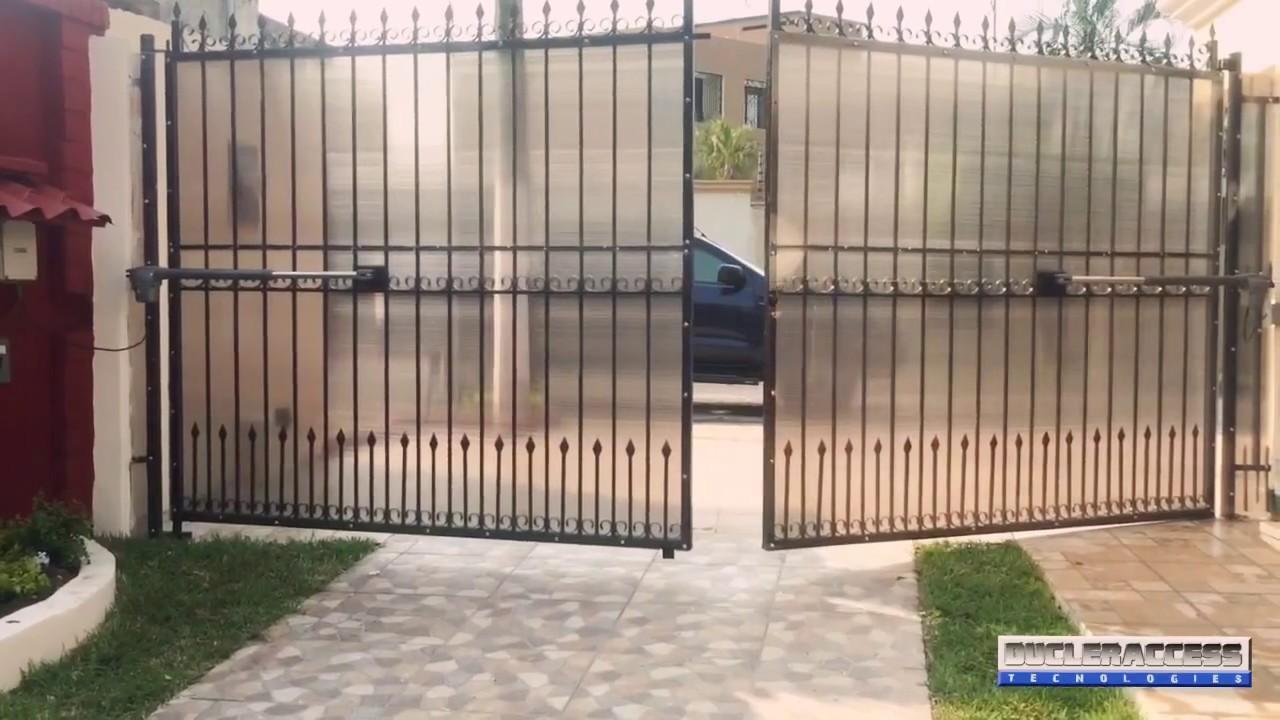 Brazos electromecanicos pistones para portones for Brazos puertas automaticas
