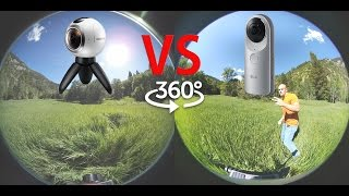 Gear 360 vs LG 360 - What is the best 360 camera?! - Side by side test