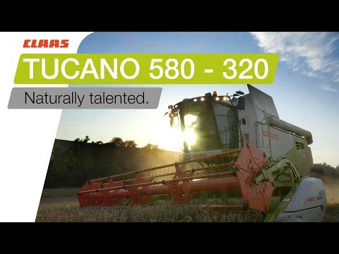21bfa230f99 CLAAS TUCANO 580 - 320. Naturally… The natural choice. The hybrid combine  harvester l…