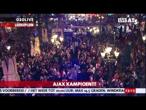 Ajax 31e Leidseplein sfeer impressie