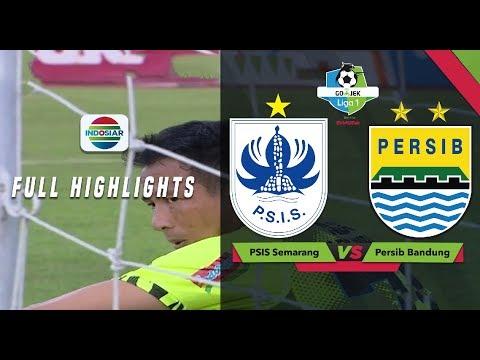PSIS Semarang (3) vs (0) Persib Bandung - Full Highlights | Go-Jek Liga 1 Bersama Bukalapak