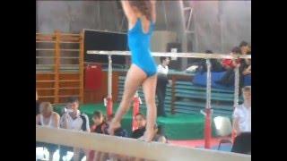Гынкул Оксана.Чемпионат по спортивной гимнастике