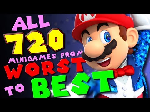 EVERY MARIO PARTY MINIGAME RANKED