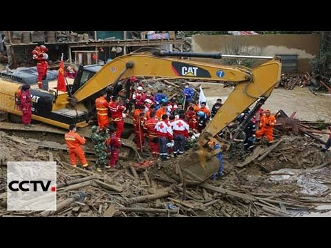 East China landslide: Chances slim of finding the missing