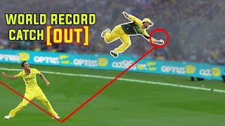 Top 10 world record catch in cricket history 2017-18 । best flying catches in cricket history