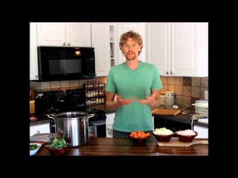 GAPS Diet: Bone Broth Vegetable Soup Recipe