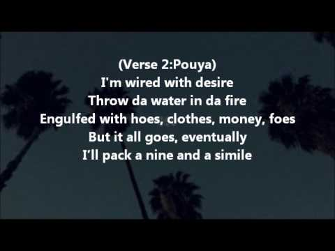 Suicidal Thoughts in the Back of a Caddilac LYRICS - POUYA