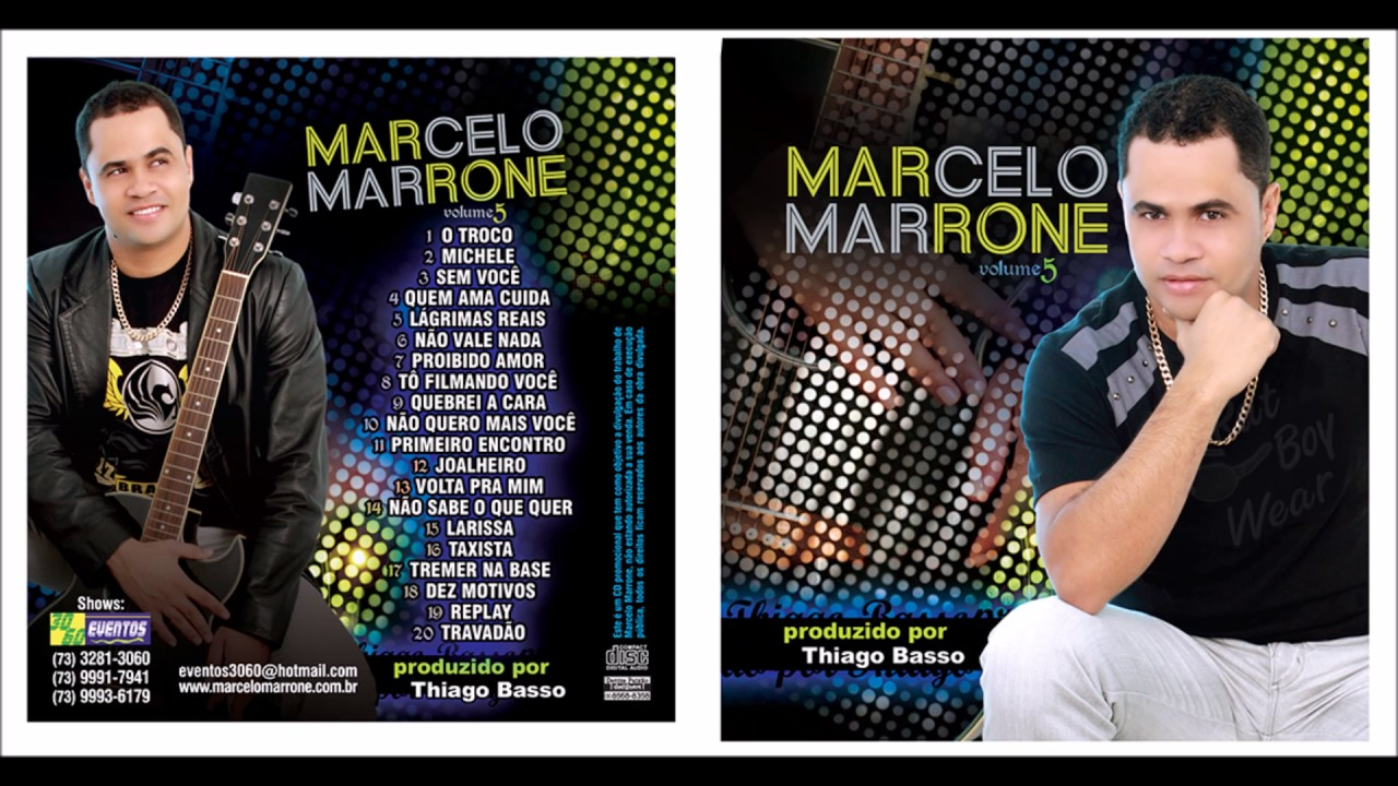 cd marcelo marrone 2009