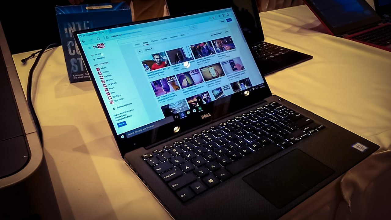 Dell Xps 13 9350 Signature Edition Initial Impressions Youtube