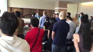 Grace Harbor Bilingual Worship Service in Tokyo - Aug 16, 2015