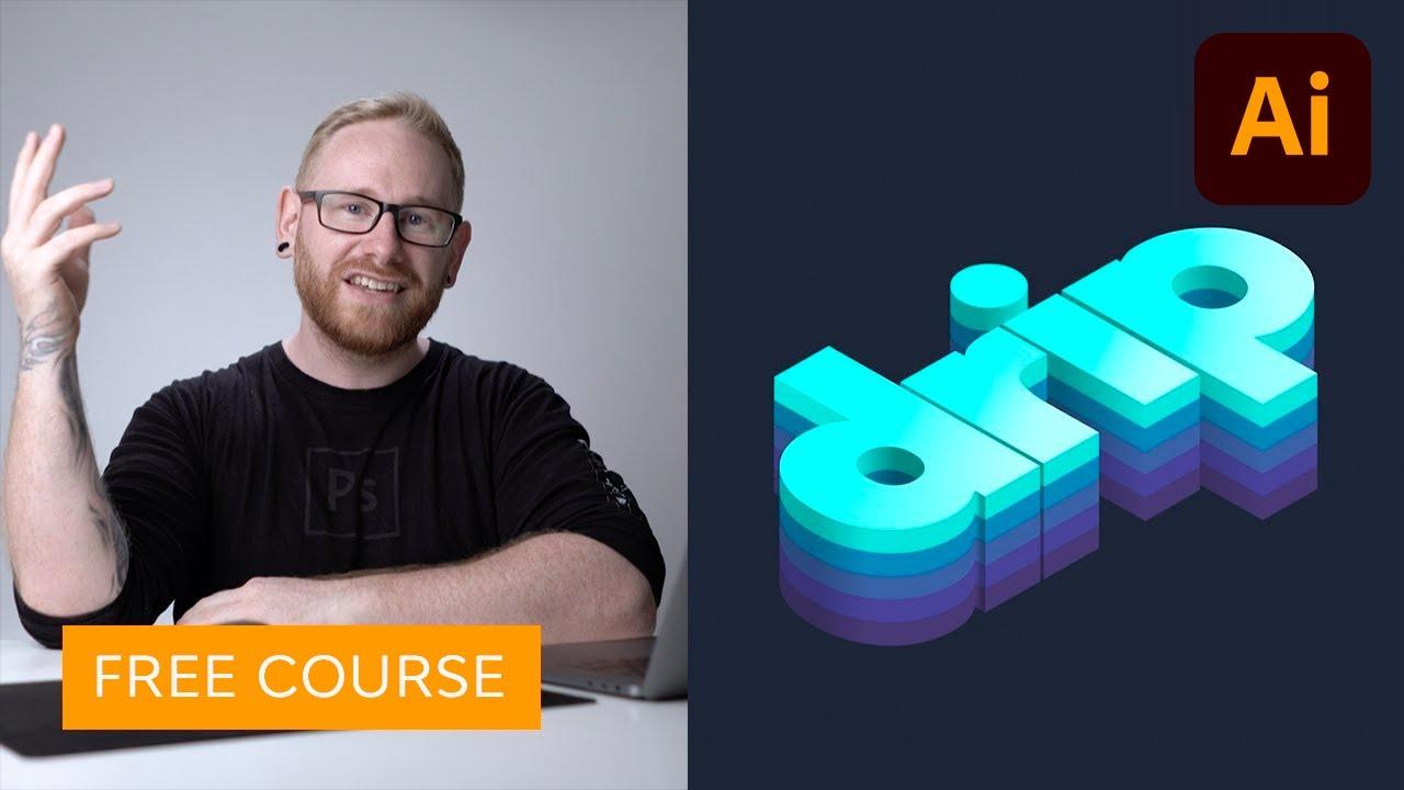 Create an Isometric Type Effect in Adobe Illustrator