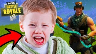 KID GETS HIS ASS BEAT BY DAD ON FORTNITE! WTF MOMENT