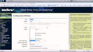 Intelbras - Como Configurar o Roteador Sem Fio 802.11g Wireless SUPERG - www.professorramos.com