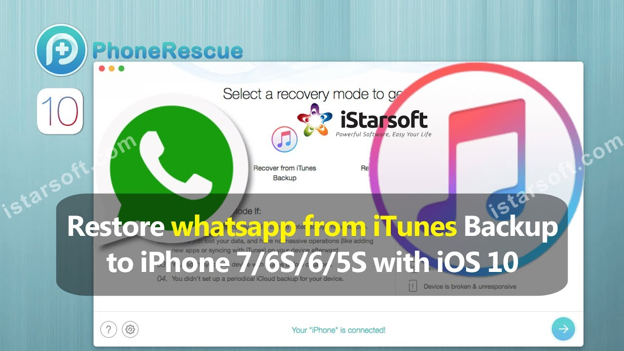 restore iphone from itunes backup restore whatsapp from itunes backup to iphone 7 6s 6 5s 1054