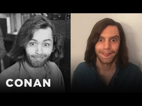 Evan Peters On Playing Six Different Cult Leaders   CONAN on TBS