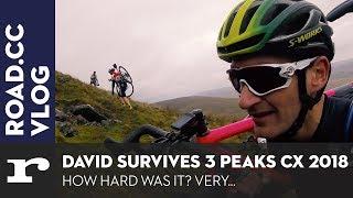 David survives 3 Peaks CX 2018, just...