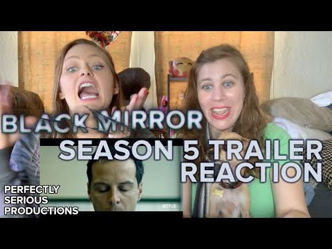 Black Mirror Season 5 Official Trailer Reaction