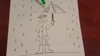 El Paraguas En El Test De La Persona Bajo La Lluvia Youtube