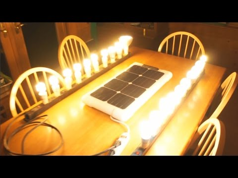 SOLN1 25 - Easy to Build DIY Portable Energy Generator Solar