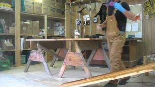 Staining Park Benches