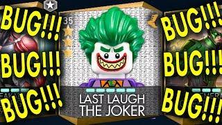 Unlocking Last Laugh The Joker on IOS in Injustice 2 Mobile. Found Insane BUG! 😮