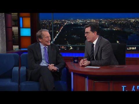 Charlie Rose tells Stephen Colbert what he